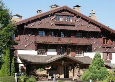 Hôtel du Mont d'Arbois à Megève (74)